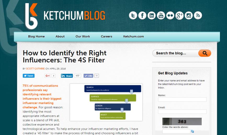4S Filter Ketchum blog scott guthrie sabguthrie